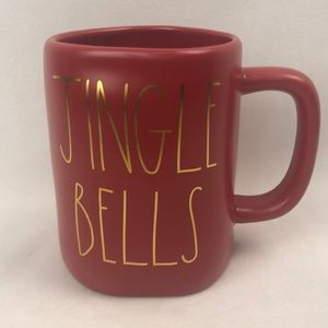 Rae Dunn JINGLE BELLS with gold letters